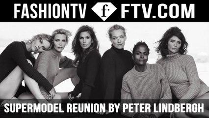 Epic '90s Supermodel Reunion | FTV.com