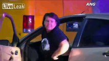 Alleged Car Thief Dances During Police Chase