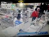 Teen with knife fights a horde of little kids armed with anything they can find