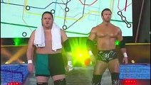 TNA - Matt Morgan and Crimson vs Samoa Joe and Magnus - Against all odds 2012