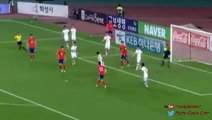 Lee Chung-Yong Goal - South Korea vs Laos 1-0 (Asia World Cup Qualification 2015)