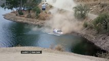 WRC Rally Mexico crash: The driver almost drowns, the co-driver saved his notes