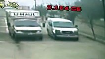 Low-res video catches violent crash involving a mother and her toddler