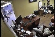 Business Owner Turns The Tables On Armed Robber