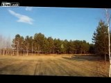 """Beautiful flying a radio-controlled aircraft """"Scat"""""""