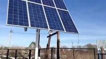 Работа солнечных батарей с сетевым инвертором