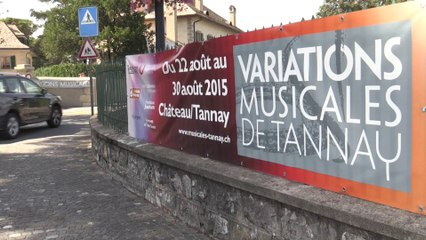 News du 3 septembre 2015 - Variations musicales Tannay