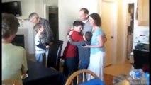 Army Dad Dances With His Kids Over Webcam Then Surprises Them
