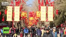 China: See Beijing get into the new year spirit with famed temple fairs