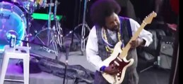 """""""Because I got High"""" - Rapper AFROMAN Punches girl on stage!!"""