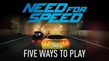 Need for Speed 2015 - Gameplay Innovations: Five Ways To Play | Official Street Racing Game (2015)