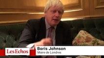 """Boris Johnson : """"Il ne faut pas donner l'impression que l'Europe est un eldorado"""""""