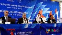 Summer Universiade 2015 Gwangju - 34th CAMPUS Sport TV Show - FISU 2015
