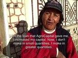 Kiva Entrepreneur, Carmen from Bolivia speaks about her Kiva Loan