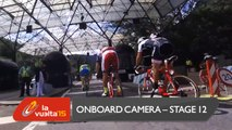 Onboard camera / Cámara a bordo - Stage 12 (Escaldes-Engordany. Andorra / Lleida) - La Vuelta a España 2015