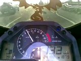 Honda CBR 600RR 2006 Laser Extreme Exhaust System, Top Speed 285km/h