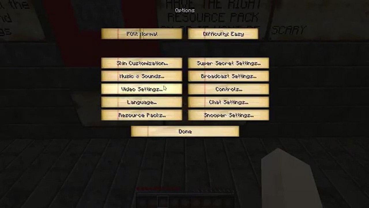 Minecraft Map The Doll Maker BEST HORR