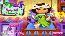 Dora The Explorer Full Game Episodes For Children - Hospital Recovery -Cartoon For Kids In English