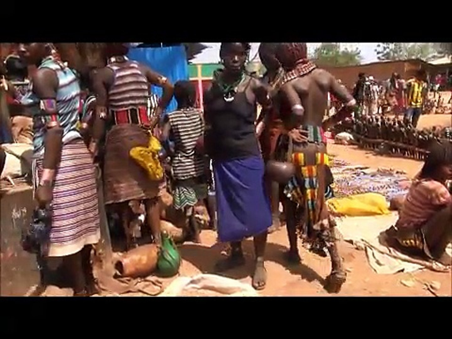 African Dassanech People Ethnic Beauty video