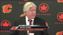 Calgary Flames Fire GM Jay Feaster. Brian Burke Acts As Interim General Manager. Dec 12th 2013