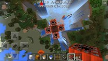 Minecraft P.E. Tnt Illusion & great tnt explosion