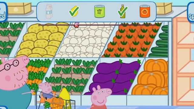 Peppa Pig App Game  Best Kids App Games  Peppa Pig Supermarket | peppa pig games