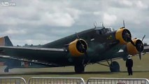 WW2 Junkers Ju 52 display