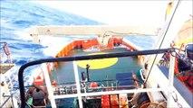 (ERRV) Ship Nearly Capsizes in Rough Seas