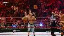 Triple H,John Cena & Seth Green vs. Legacy ( WWE Monday Night RAW 13/07/2009 ) ( High Quality )