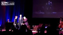 Steve Martin and Martin Short with surprise guest-- David Letterman!!