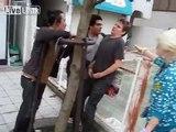 Drunk Swedish Pisses In Japanese Street
