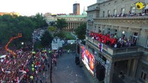 Over 60 000 Serbs welcomed Serbian football players