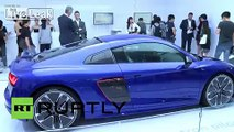 China: Audi unveils R8 e-tron self-driving concept at CES in Shanghai