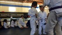 Kids Basic BJJ / Self Defense Testing Promotion