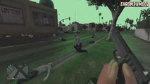 GTA V Online First Person View Zombie Apocalypse Mod Made By Chr0m3 x MoDz
