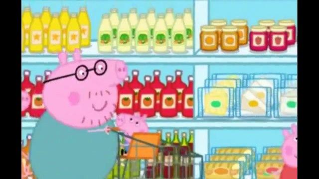 Peppa Pig Shopping S01E41 Cartoon Episodes HD