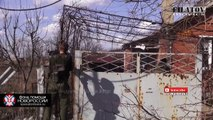 Novorossian Rebels In Heavy Fighting With Ukrainian Army Have An Extreme Close Call With Visible Ukrainian Tank Round