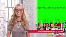 "Justin Bieber Performing ""What Do You Mean"" at 2015 MTV VMAs!"