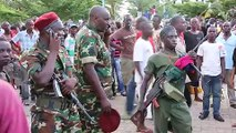 Crowds Celebrate Burundi Coup Announcement in Streets of Bujumbura