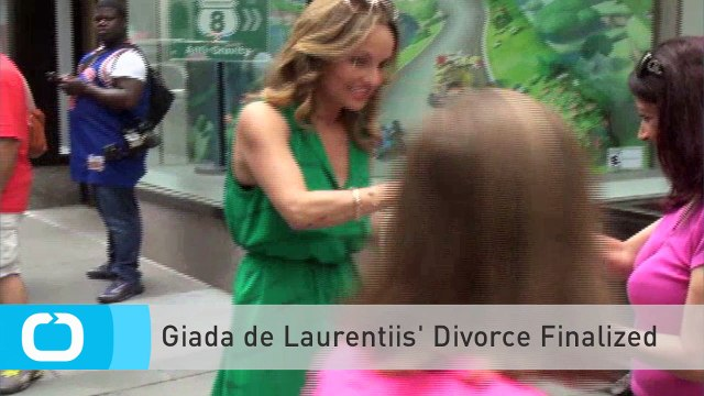 Giada De Laurentiis' Divorce Finalized
