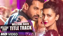 Nas Nas Mein Full VIDEO Song Welcome Back 2015 Shruti Haasan, john abraham, sakshi maggo, Meet Bros Anjjan, Feat. Shabab Sabri & Rani Hazarika, Rap. Deane Sequiera