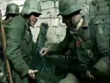 German infantry breaking through on the Eastern Front. [FILM]