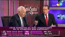 José Manuel García Margallo en El Gato al Agua sobre la expropiación de YPF en Argentina.