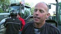 Manifestations: les agriculteurs entrent dans Paris