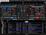 mezclando en virtual dj techno y dance 90's