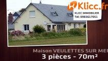 A vendre - VEULETTES SUR MER (76450) - 3 pièces - 70m²