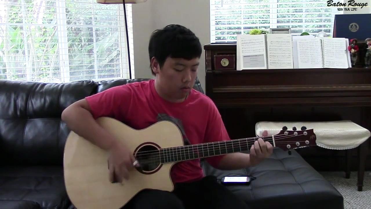 (OMI) Cheerleader – [Free Tabs] Fingerstyle Guitar Cover