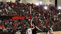 Kuroko No Basket NBA 2k12 Aomine vs Kaijou & Seirin Highlights