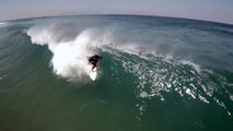 Drone Footage of Surfing . Tube Riding . 15 second teaser