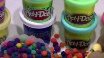 play doh kinder surprise eggs frozen peppa pig lego - Play dough toys 720p